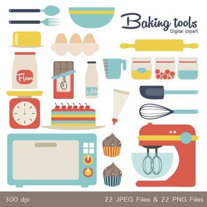 Baking clipart baking tool About best 33 Art SqweezDesign
