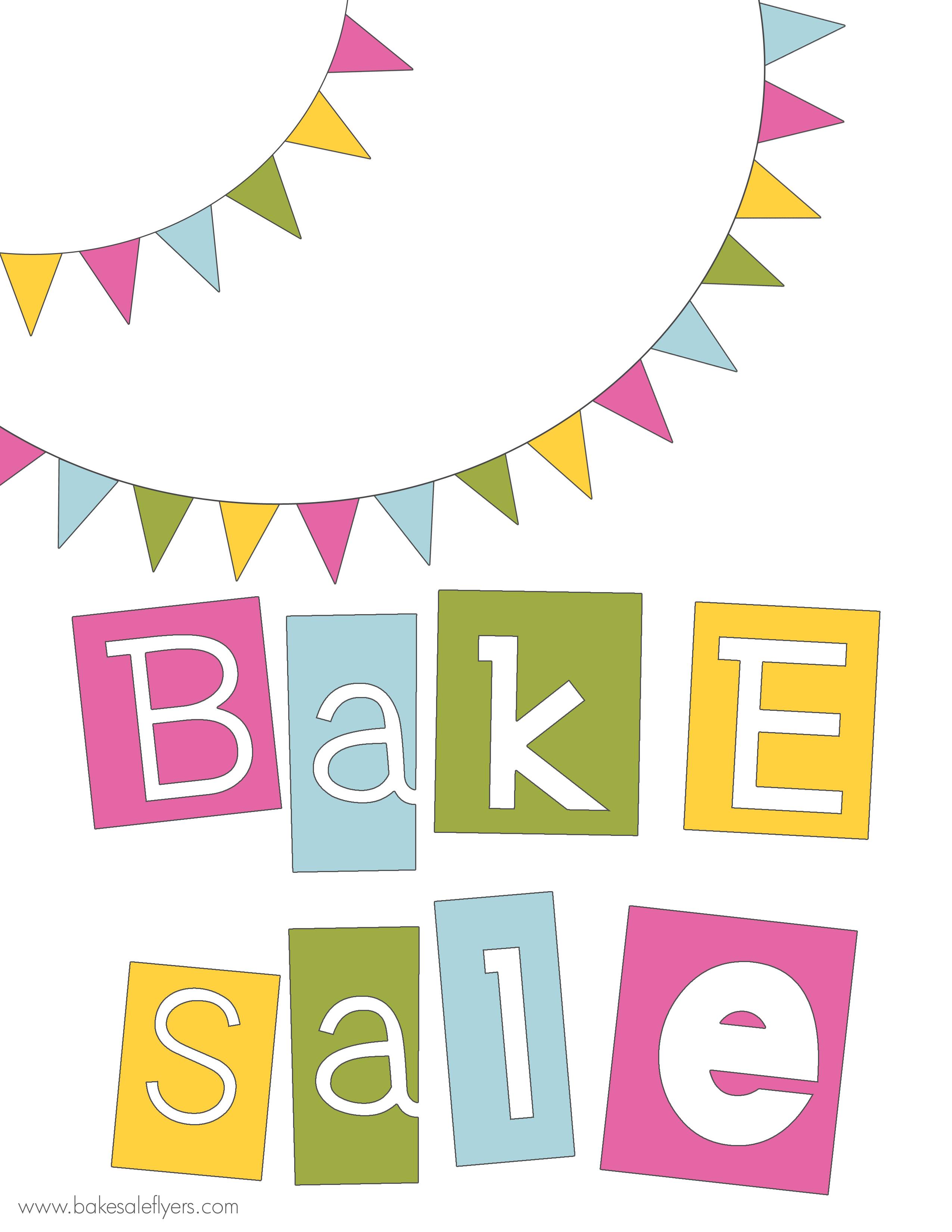 Baking clipart banner Sale cliparts Bake Banner Clipart