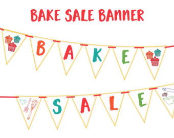 Baking clipart banner Banner Decoration your announce Boldly