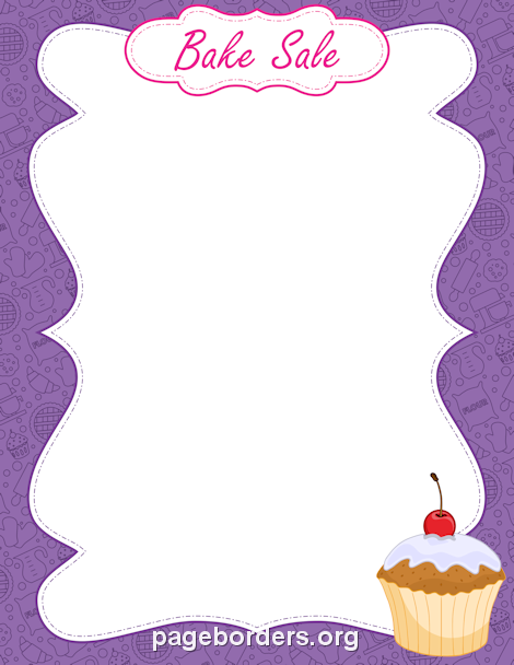 Baking clipart border  the Microsoft for or
