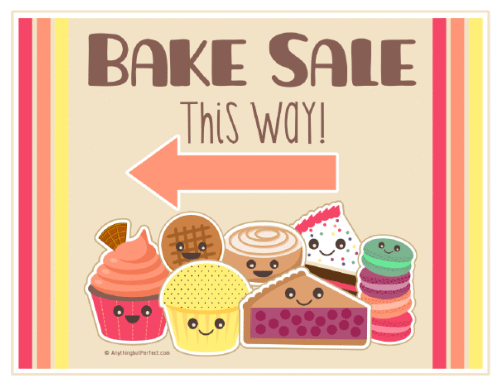 Vanilla Cupcake clipart colorful cupcake Bake Blog Set DOWNLOAD Printable