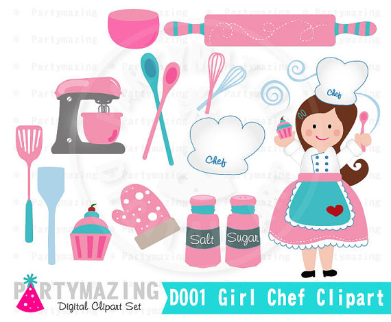 Baking clipart child baking Chef Baking Clipart Children Cooking
