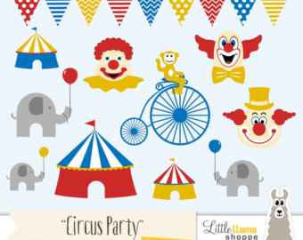 Carneval clipart swing ride Instant Art Circus Circus and