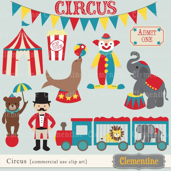 Carneval clipart circus train Art Biscuits more images Miscellaneous