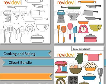 Baking clipart commercial cooking Use / use Commercial Graphics
