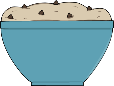 Baking clipart cookie dough Dough Clip Art Cookie Cookie