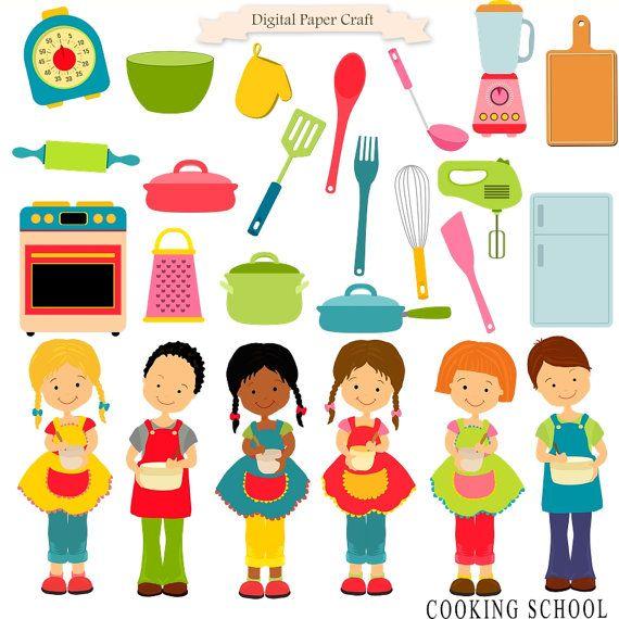 Baking clipart cooking class Tému Cooking clipart Children download
