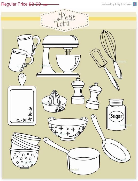 Baking clipart cooking class Class  clip Digital clipart