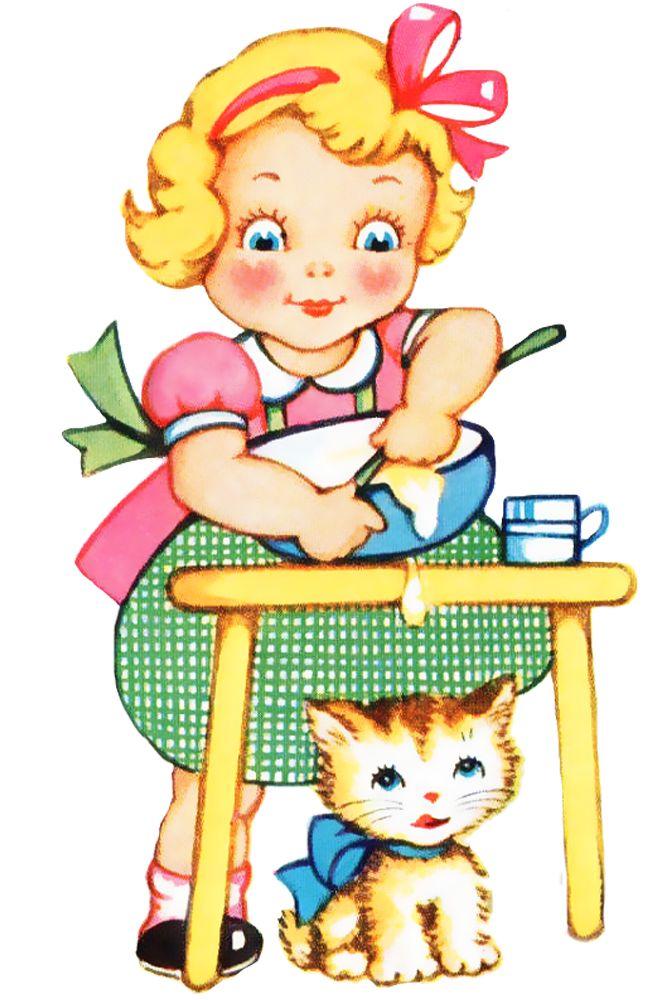 Baking clipart cooking dinner Me 112 Printables Freebie Vintage
