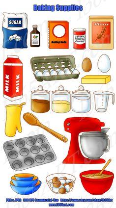 Baking clipart cooking dinner Ingredients DIY Cooker Jpeg Kitchen