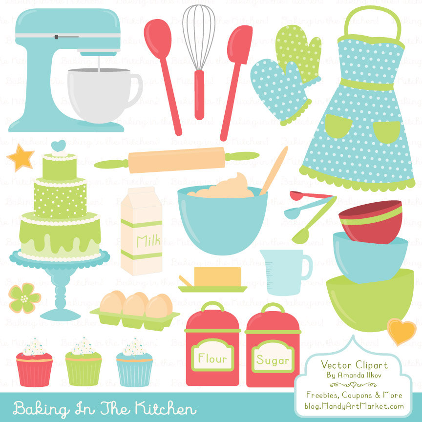 Fresh clipart salad bar Clipart Baking Fresh Vectors Kitchen