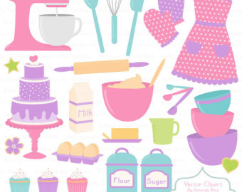 Baking clipart cooking supply Cooking & Vectors Fresh Clip