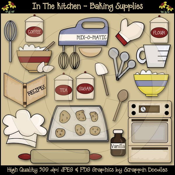 Baking clipart cooking supply Images Art Chef Free on