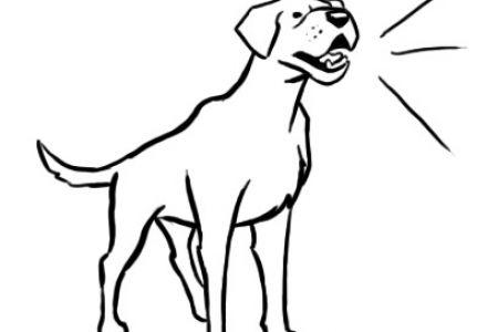 Baking clipart dog Dog Barking DA Art Dog