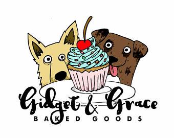 Baking clipart dog Hand Etsy Logo vectors Custom