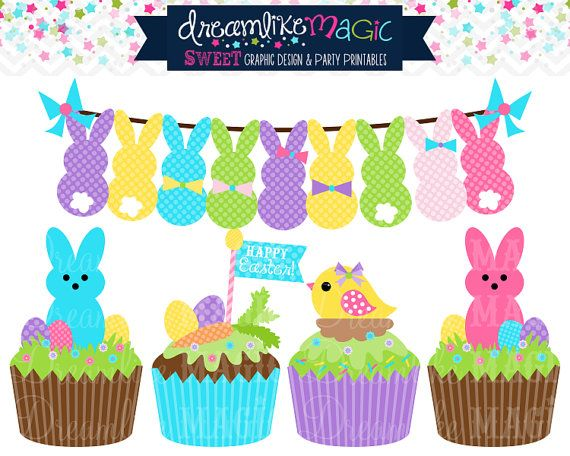 Vanilla Cupcake clipart easter cupcake About more on this clipart