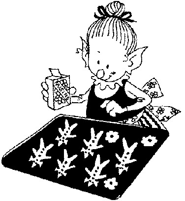 Baking clipart elf Elves elf Clip elf Art
