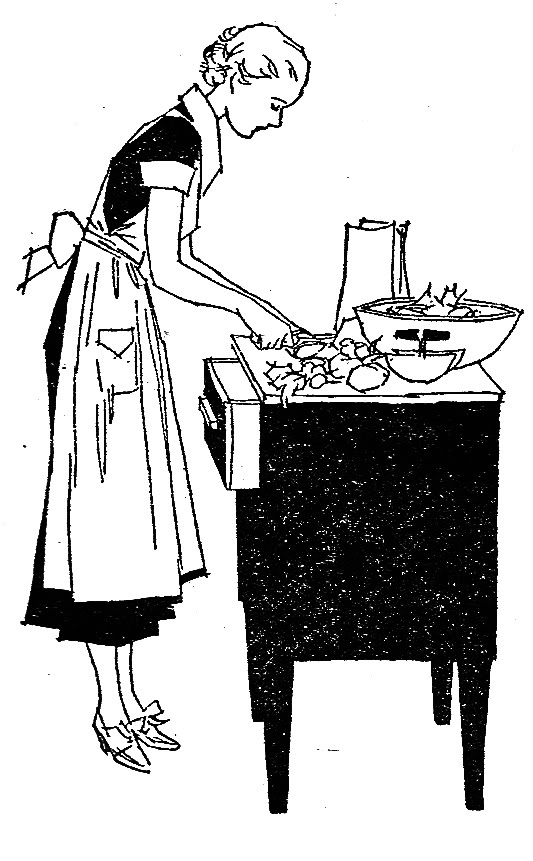 Baking clipart food preparation & DIY Vintage FREE Baking