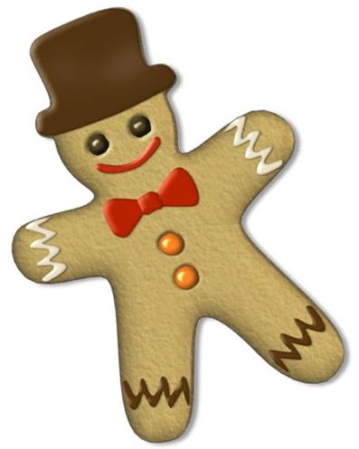 Gingerbread clipart eaten Clipartix Gingerbread clip man art