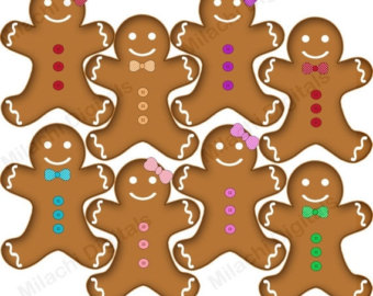 Gingerbread clipart gingerbread cookie #15
