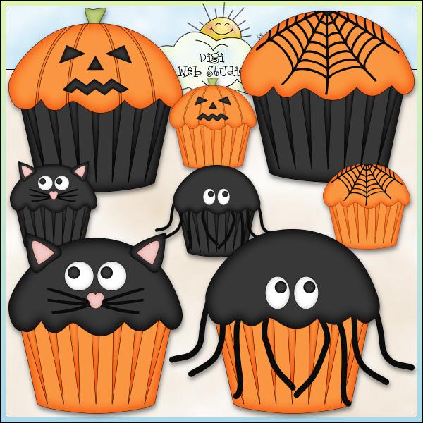 Halloween clipart bake sale Halloween Clip Halloween Printable Digi