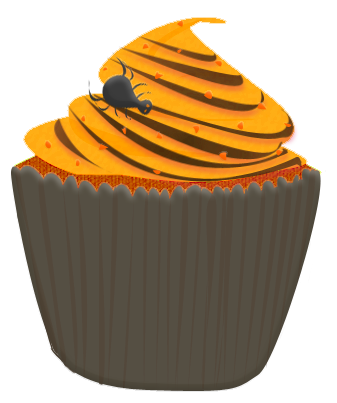 Drawn cupcake halloween cupcake #15