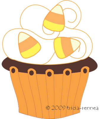 Muffin clipart orange cupcake Art cupcake Halloween the wallpapers