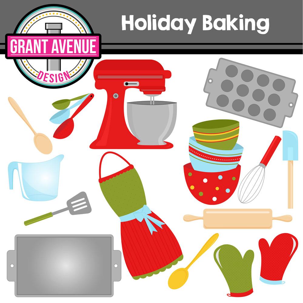 Baking clipart holiday baking Design Holiday Baking Avenue baking