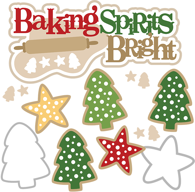 Baking clipart holiday baking Baking christmas baking svg christmas