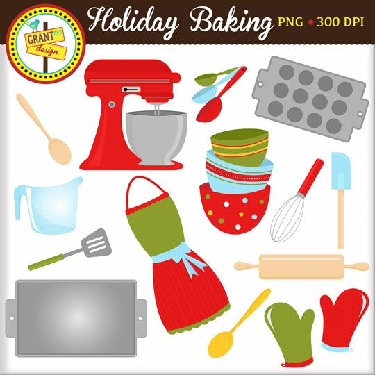 Baking clipart holiday baking Clipart Panda Free Free Baking