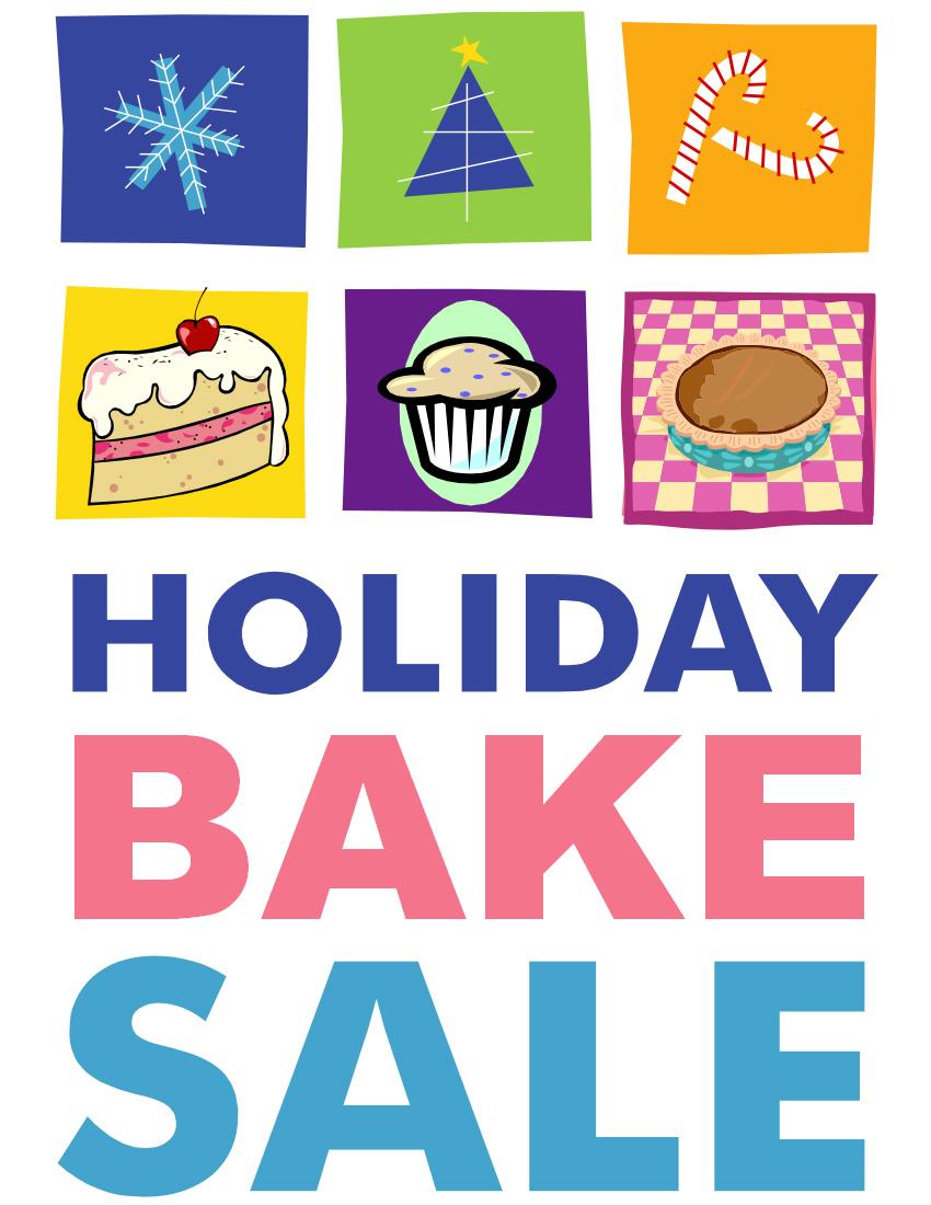 Holydays clipart bake sale Flyers flyer Holiday – Flyer
