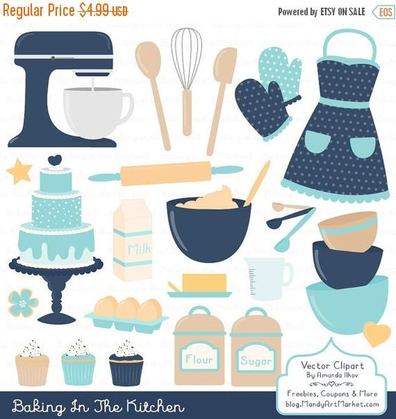 Baking clipart kitchen furniture Clipart & Oceana Clipart