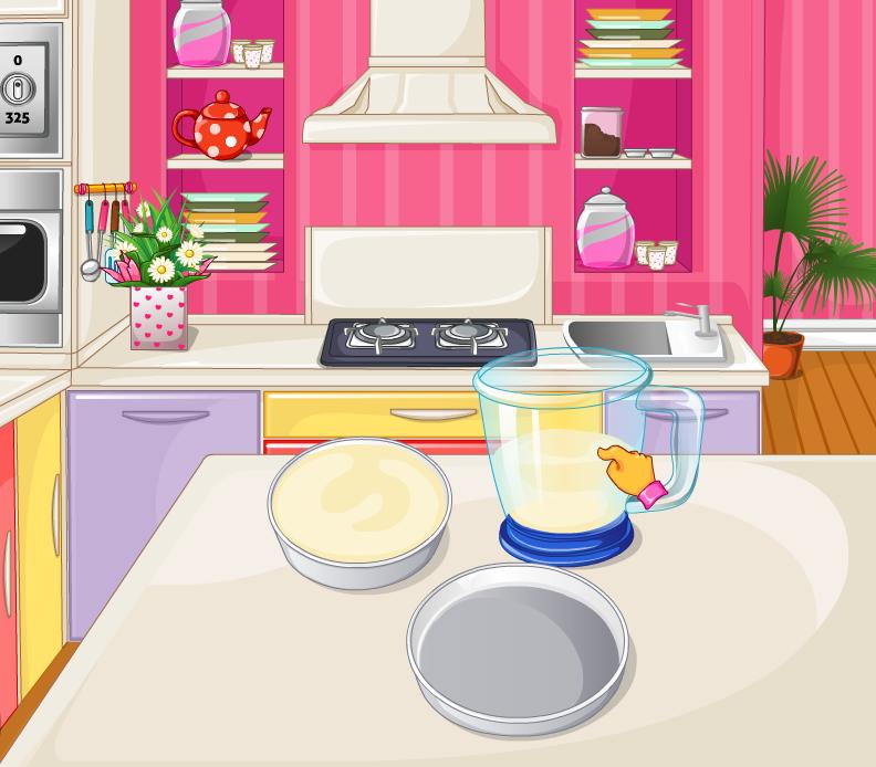 Baking clipart kitchen furniture Girls Play games screenshot cooking