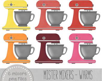 Baking clipart kitchen mixer Clip Digital Clip art Clip