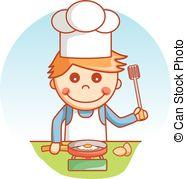 Boy clipart cooking Boy  Vectors boy happy