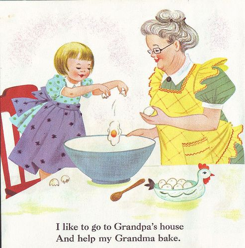 Baking clipart love Grandparents Grandparents Art Download Clip