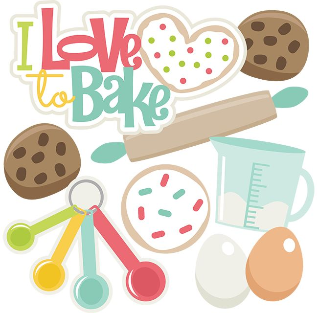 Baking clipart love Best on Love Bake images
