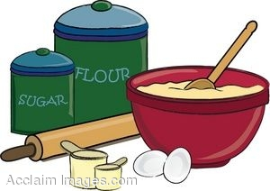 Baking clipart mix ingredient Collection baking Clipart ingredients Mixing