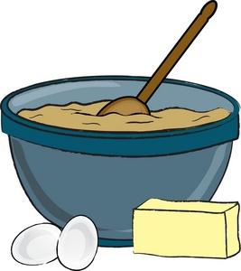 Baking clipart mixing bowl And Bowl clipart Black bowl