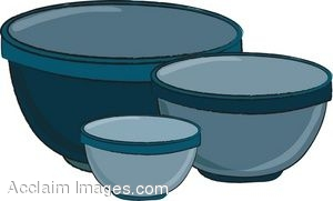 Cereal clipart baking bowl Clipart Baking Mixing a collection