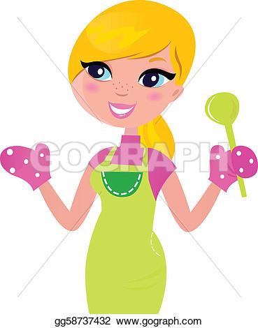 Baking clipart mom Royalty GoGraph green Baker ·