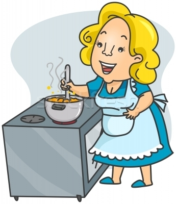 Baking clipart mom In Kitchen clipartsgram com mother%20cooking%20clipart