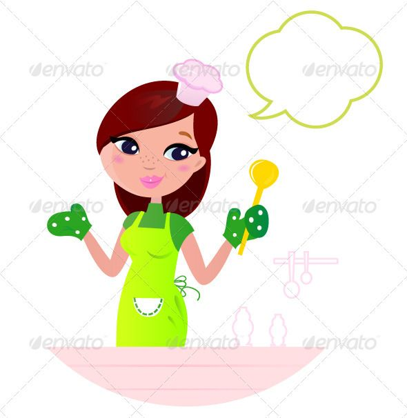 Baking clipart mom Best woman with bubble cooking