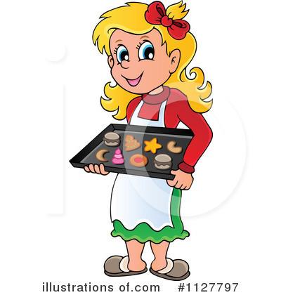 Baking clipart mom Visekart (RF) Baking Illustration #1127797