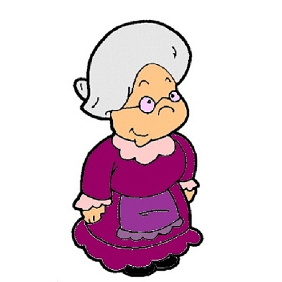 Baking clipart old woman Clipart baking woman Old baking