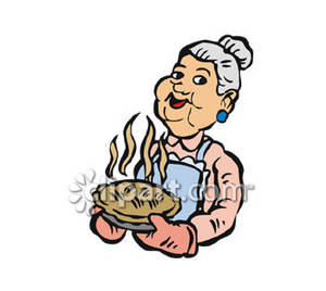 Baking clipart old woman Clipart Clipart Granny Clipart Images
