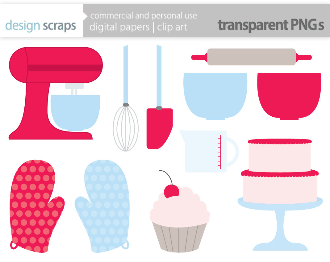 Pink clipart mixer Clipart Baking Cliparts Baking Zone