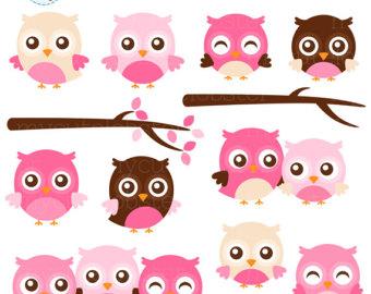 Baking clipart owls Clipart clip Set Baking branches