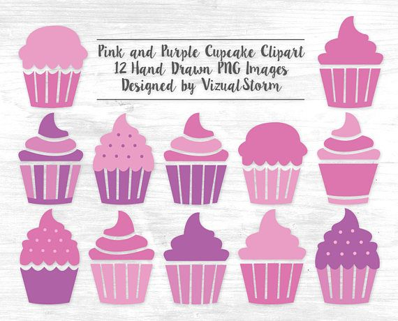 Muffin clipart colorful cupcake Dessert Digital Best Clip Graphics