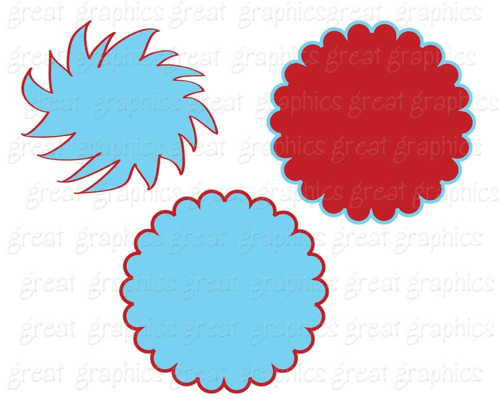 Baking clipart red frame Digital Art Blue Frame and